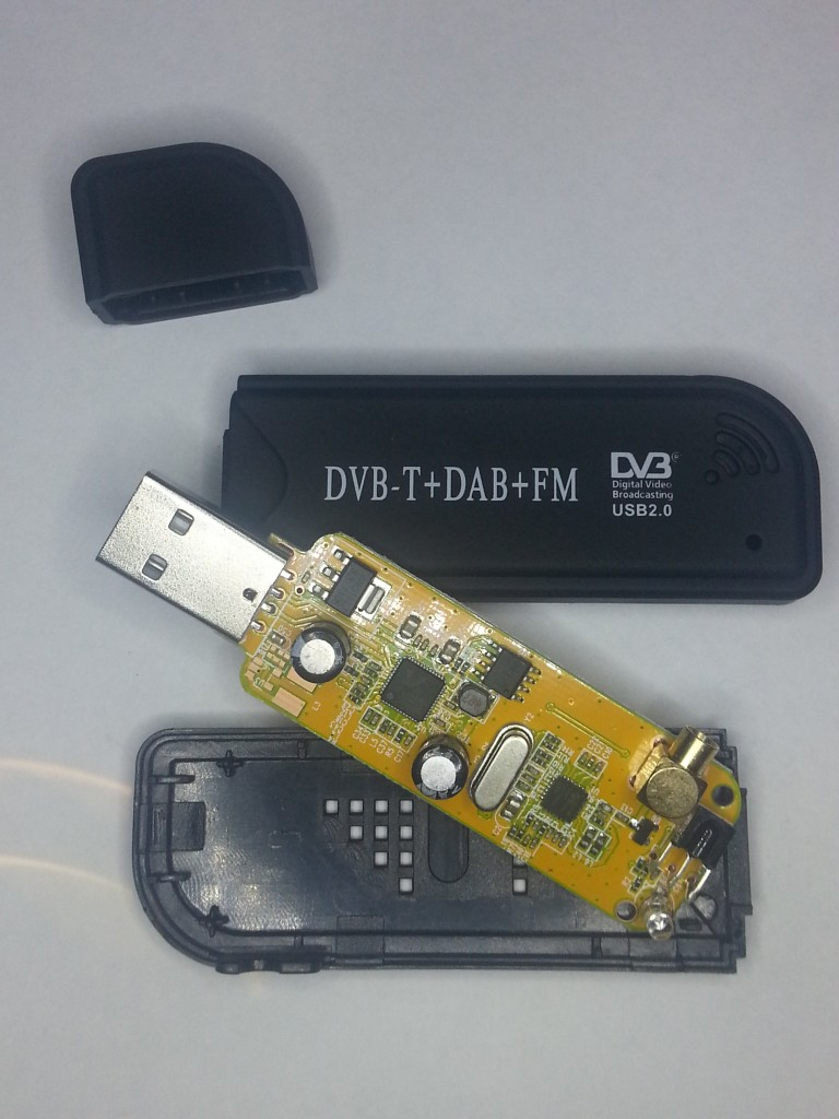 Inside the usb device
