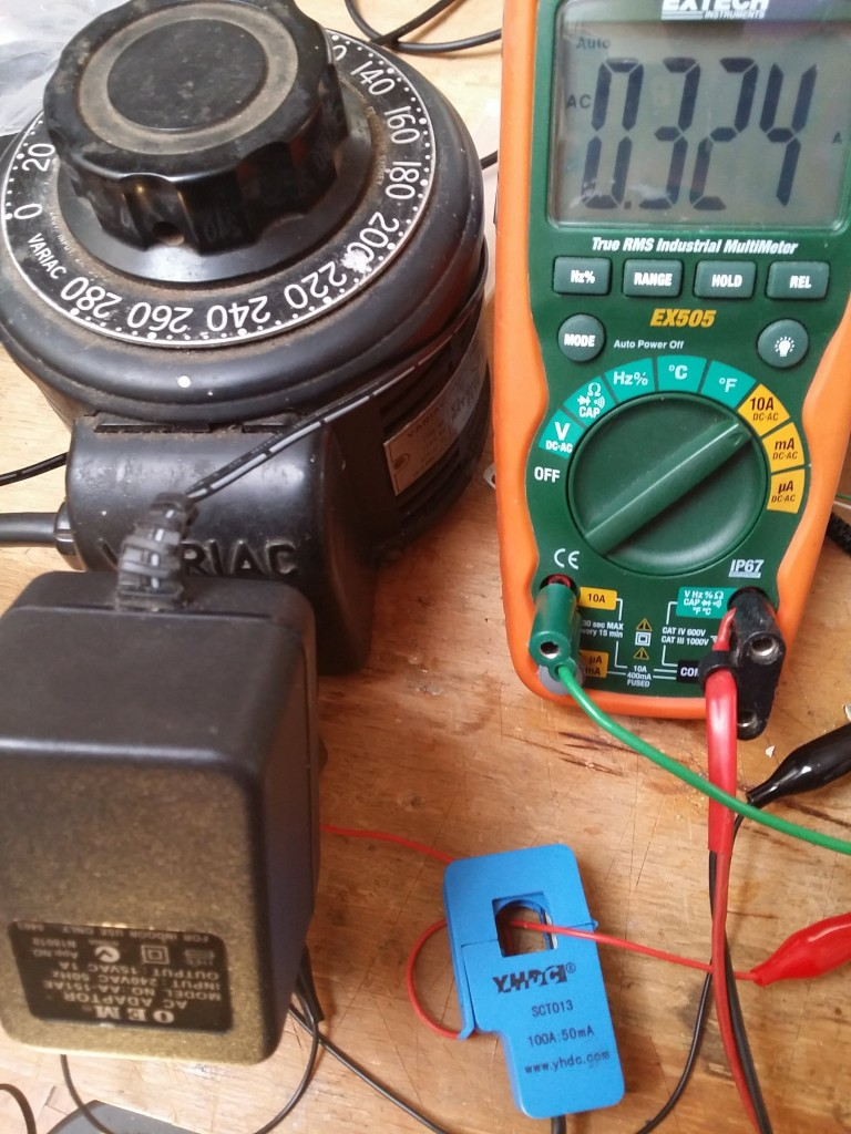 Measuring voltage and current